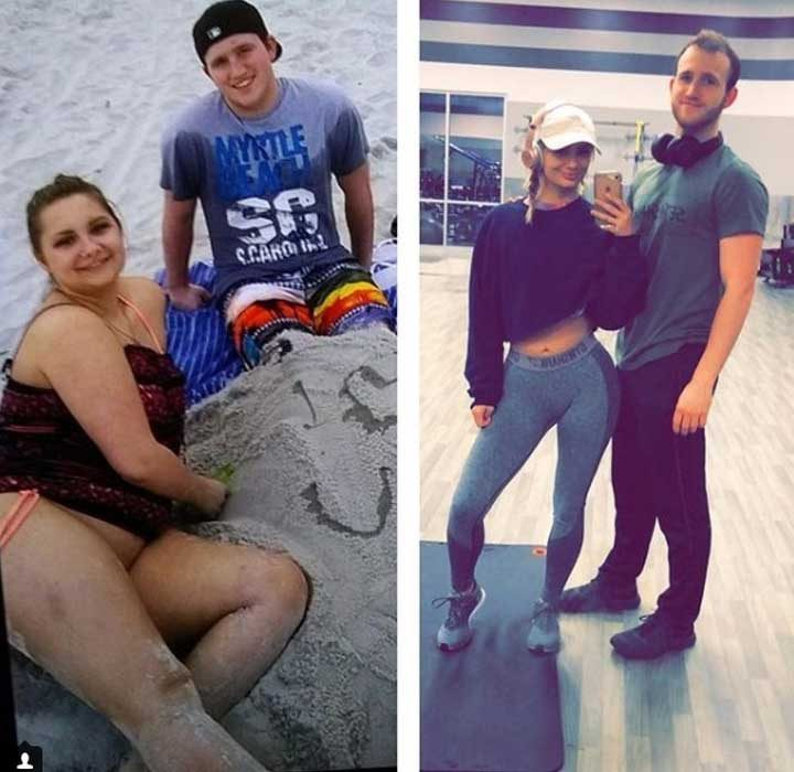 Тази двойка напълно промени начина си на живот в рамките на 2 години. И това нямаше да се случи, ако не се подкрепяха взаимно
