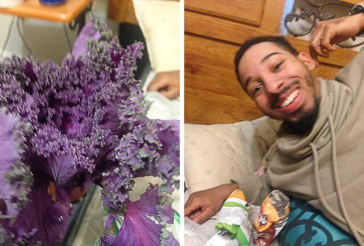 """""""Приятелят ми подари това, като си мислеше, че е цвете... А то се оказа просто маруля"""""""