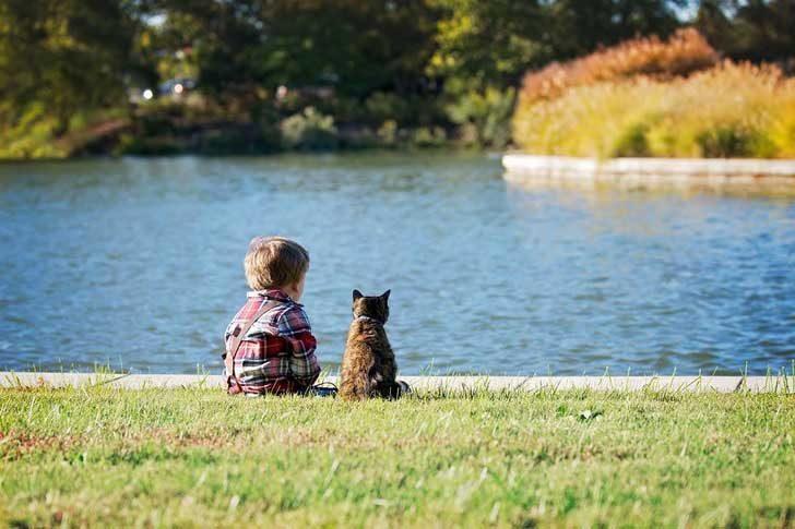 """""""Синът ми заобича моята котка, откатко се роди. Тя отвърна на любовта му по начин, който смятах за невъзможен"""""""