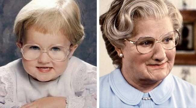 """""""Като дете моята приятелка е изглеждала точно като Мисис Даутфайър"""""""