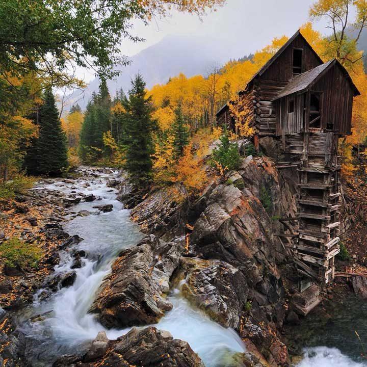 Стара мелница в Колорадо, САЩ