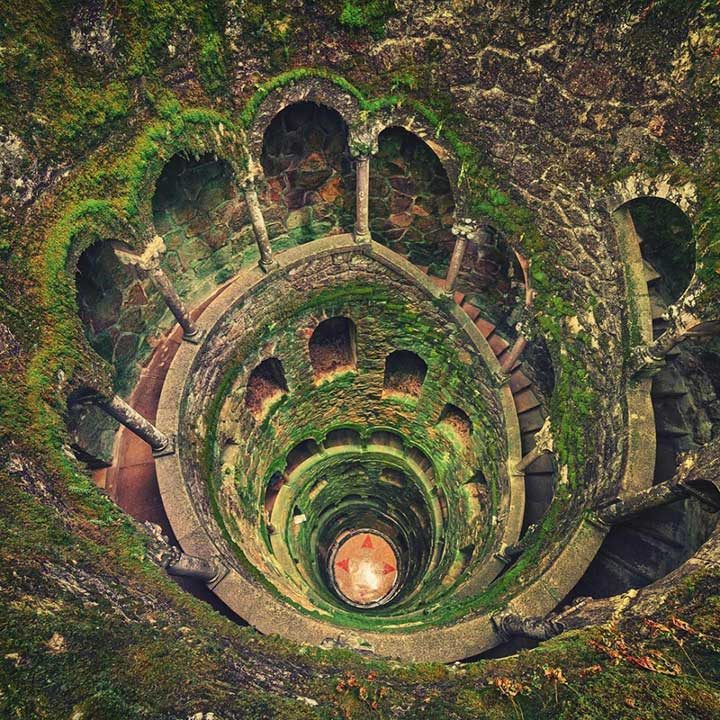 Кладенец в Синтра, Португалия