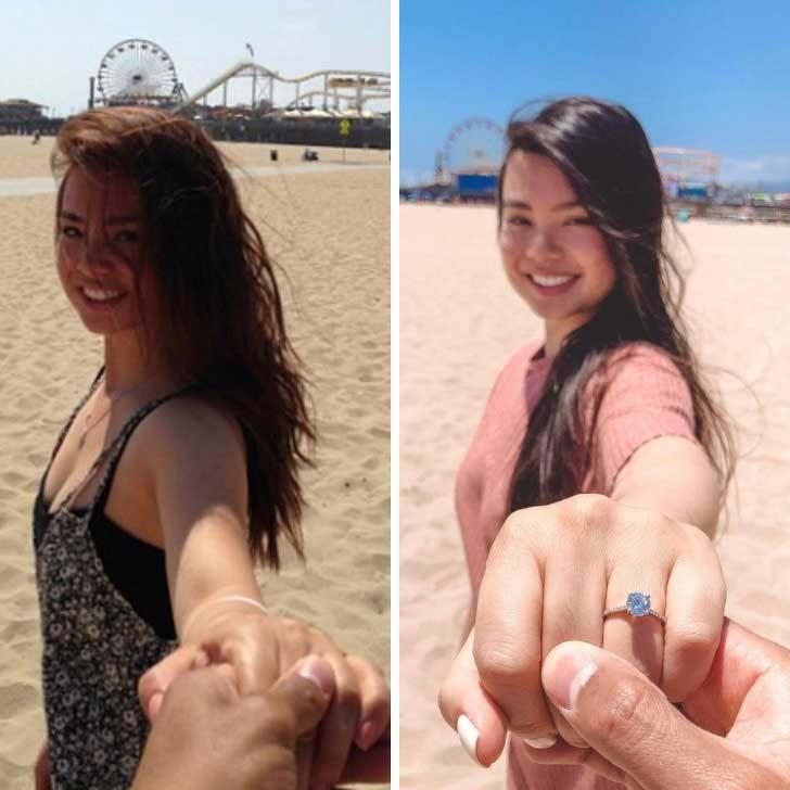 """""""Нашето първо пътешествие заедно (2013 г.) се превърна в мястото, където той ми предложи брак днес"""""""