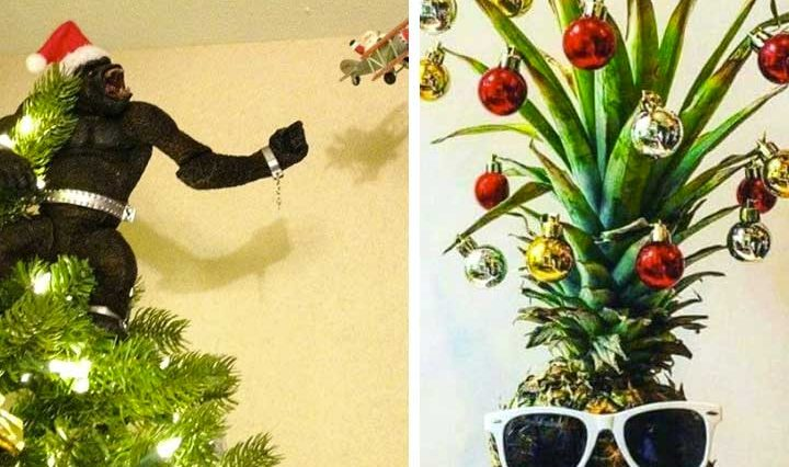 20 забавни коледни дръвчета, които ще те усмихнат