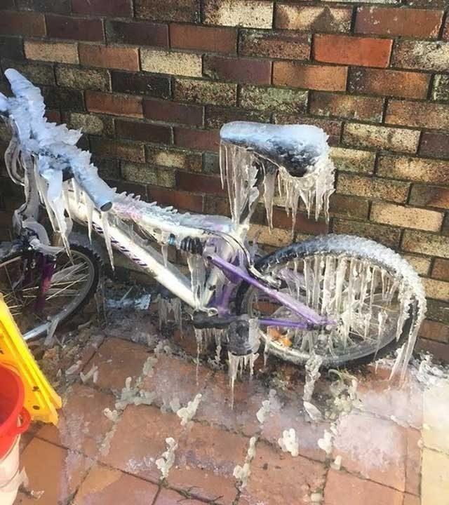 """""""За тези, които си мислят, че в Австралия винаги е топло. Наскоро тук беше малко хладно..."""""""