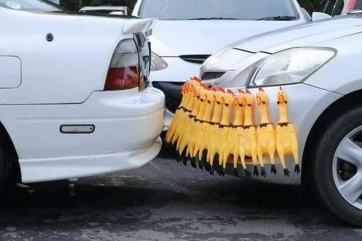 Гениален начин да предпазиш бронята