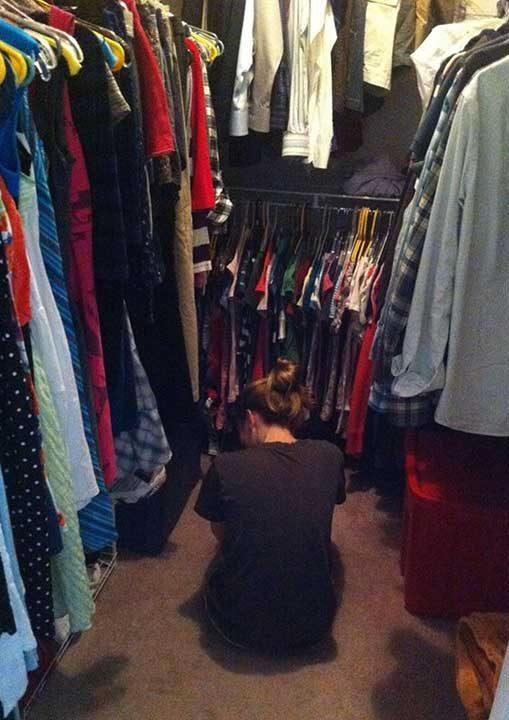 """Проблемът """"нямам какво да облека"""""""