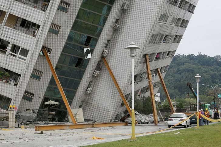 Земетресение в Тайван