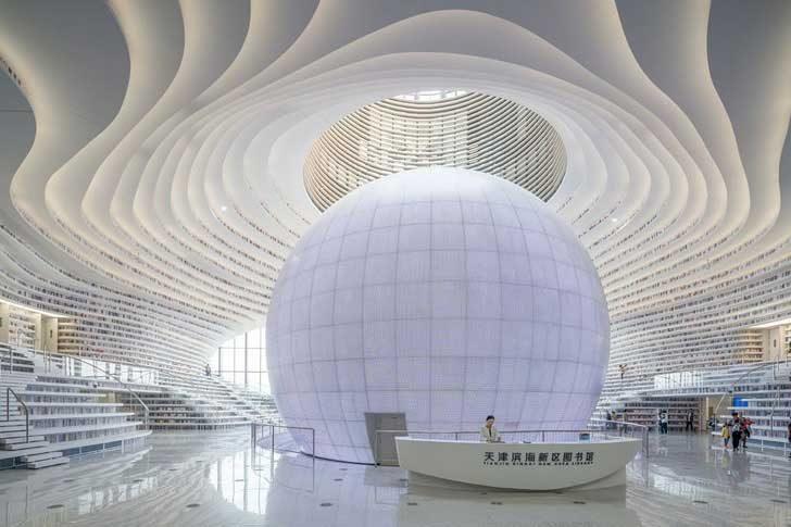 Библиотека в Китай