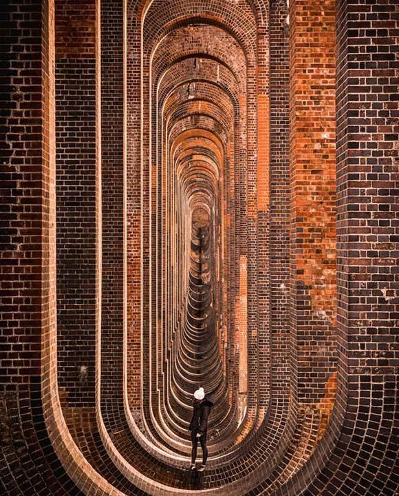 Виадукт в Южна Англия