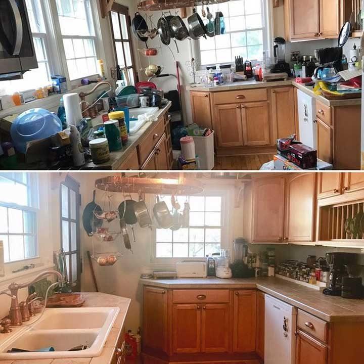 Преди и след. Разликата е впечатляваща