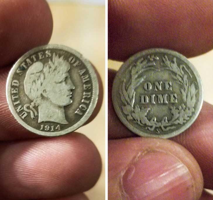 """""""В кварталния магазин ми върнаха ресто с монета на повече от 100 години"""""""