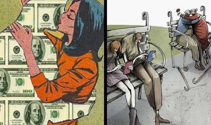 15+ дълбоки илюстрации, разкриващи суровата истина за днешния свят