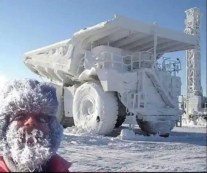 Там наистина е студено, но те са свикнали!