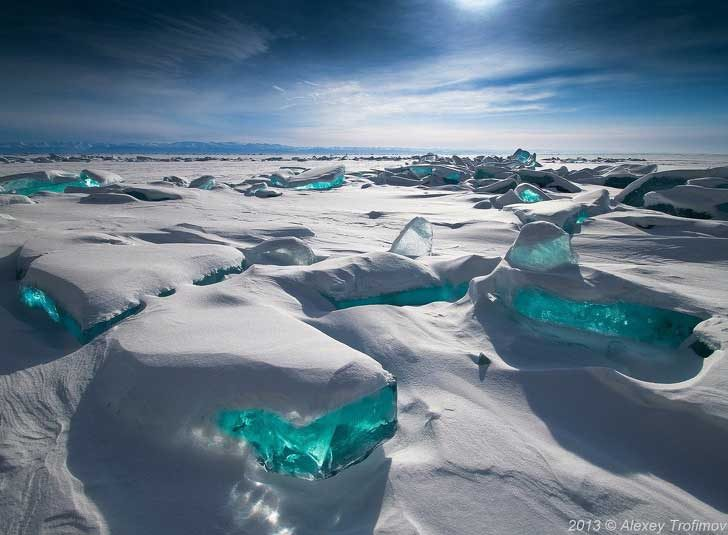 Русия е земя на удивителни природни пейзажи