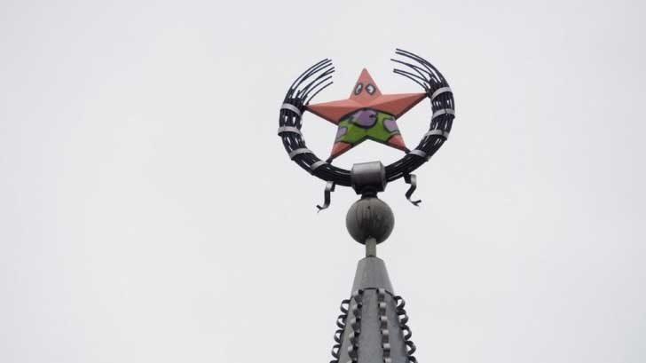 """- """"Това Съветският съюз ли е"""" - """"Не, това е Патрик, морксата звезда"""""""