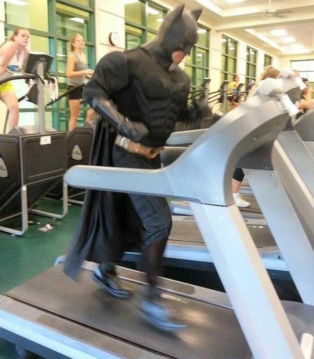 Супергероите трябва винаги да бъдат в добра физическа форма