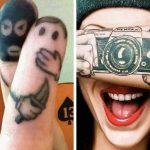 22 забавни татуировки за хора с развинтено въображение