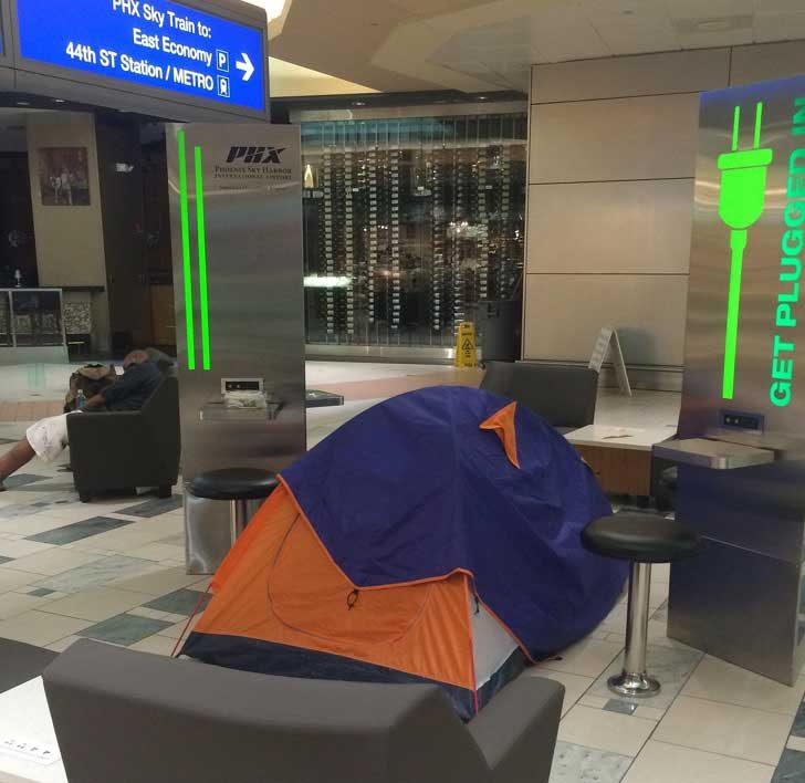 Да си създадеш комфорт на летището