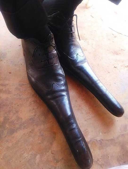 Обувките могат да бъдат използвани и като оръжи