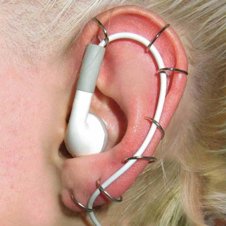 Най-накрая сигурен начин слушаките да не ти падат от ушите