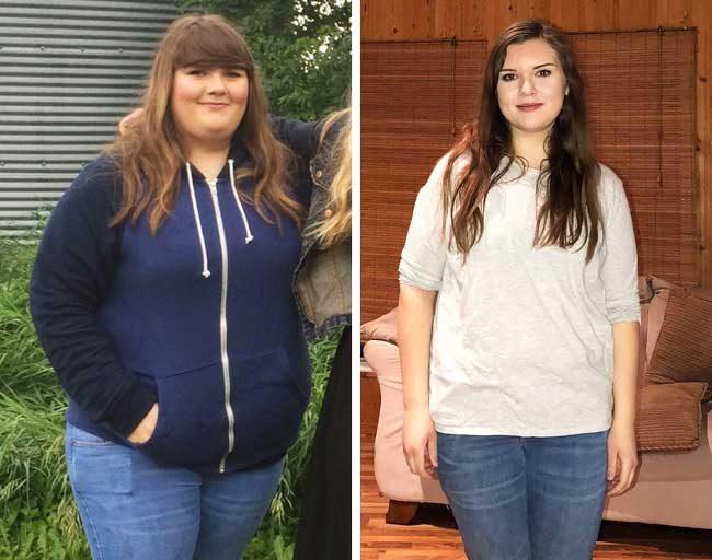 """Само за 8 месеца, тя е казала """"сбогом"""" на 40 кг"""