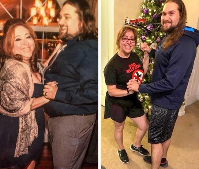 Още една двойка потвърждава, че любовта е най-силният стимул - те свалиха общо 77 кг
