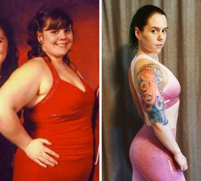 Отнело е 6 дълги години на тази жена, за да свали излишните 45 кг