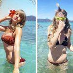 Блогърка сравнява Instagram и реалността със забавни и болезнено откровени снимки