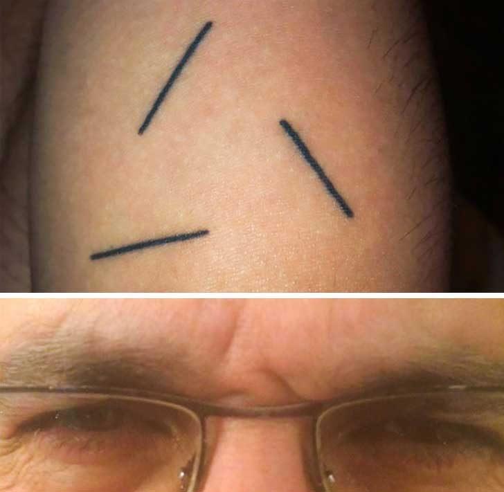 """""""Татуирах си бръчките по челото на баща ми"""""""