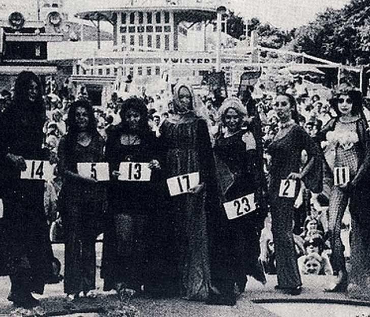 """""""Мис Америка вампир"""", 1970"""
