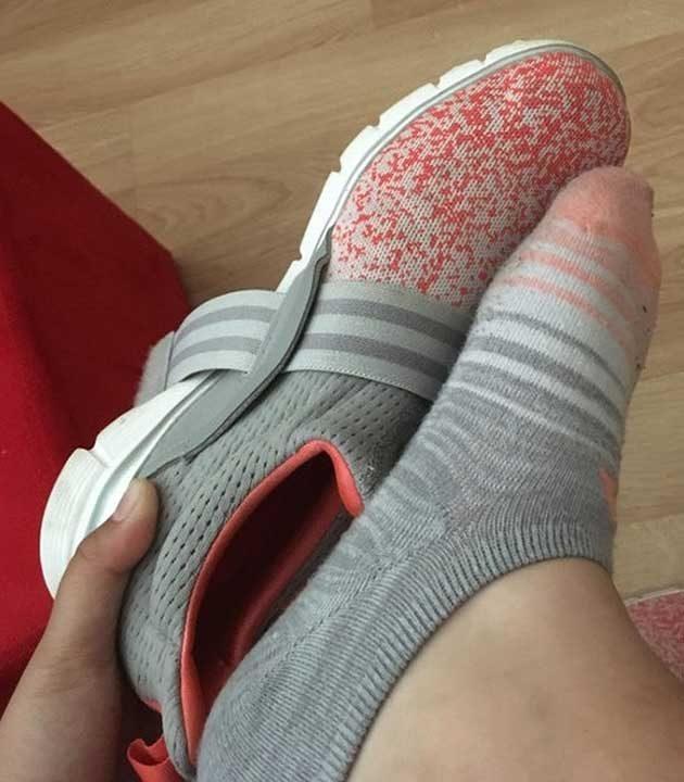 Когато чорапите ти си пасват идеално с маратонките