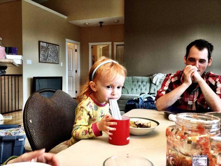 """""""Дъщеря ни смята, че една сламка не е достатъчна"""""""