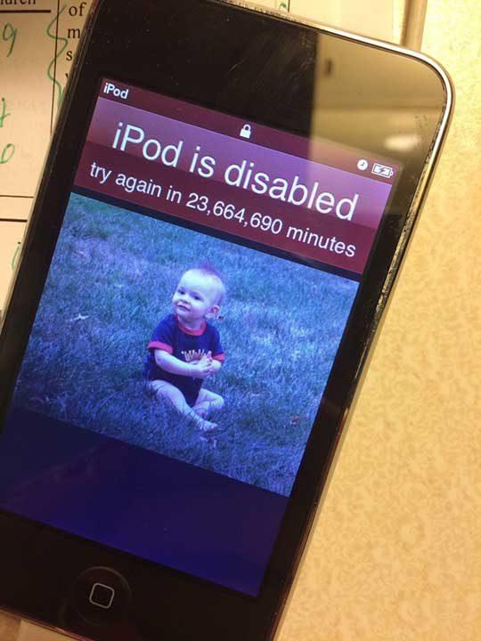 """""""Децата току що блокираха iPod-а ми за следващите 45 години"""""""