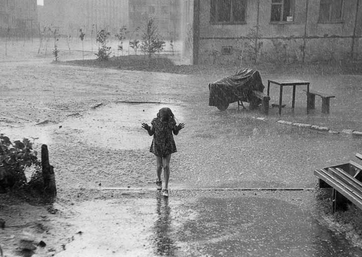 Когато дъждът ни изненада