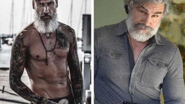 20+ снимки на мъже, които стават по-атрактивни с възрастта