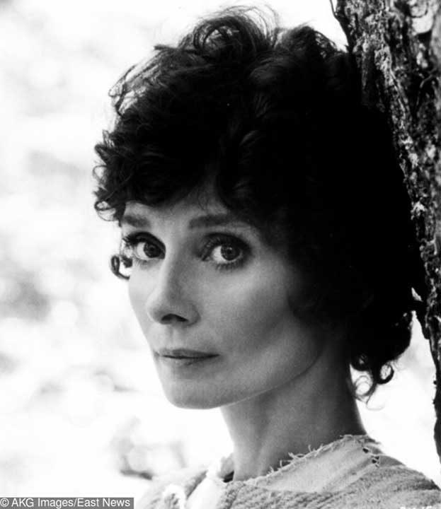 """Одри Хепбърн, 46-годишна и все още невероятно красива във """"Робин и Мариан"""" от 1975 г."""