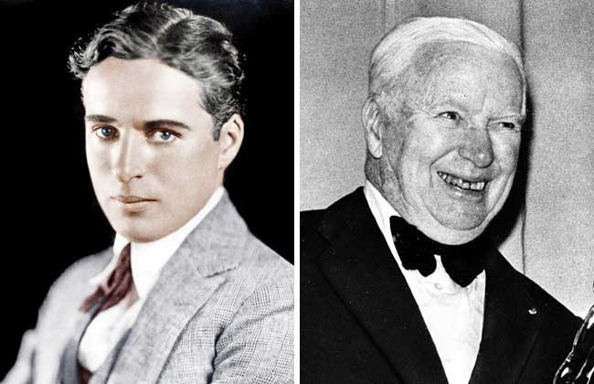 Виждал ли си някога Чарли Чаплин на стари години? Ето го!