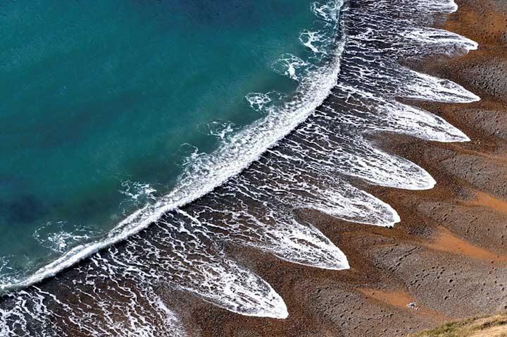 Един необикновен плаж във Великобритания