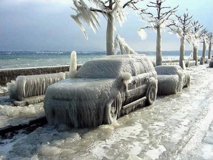 Да караш кола на Северния полюс може да се окаже малко сложно
