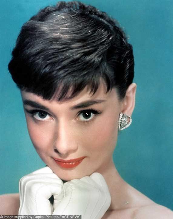 1950: Одри Хепбърн