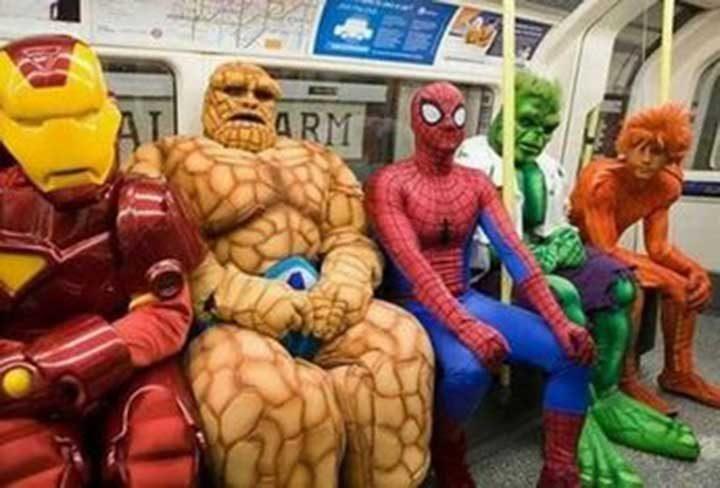 В този влак не е препоръчително да се возят злодеи!