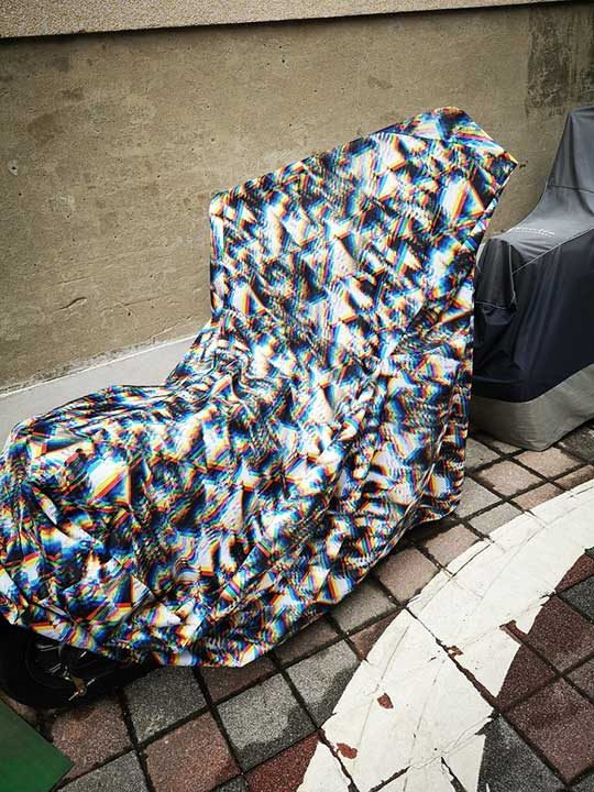 Това покривало за мотори може напълно да те обърка и е една добра защита срещу крадци