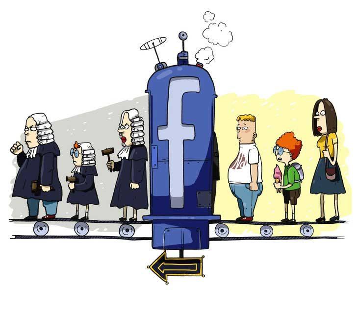 Всички сме съдници във Facebook