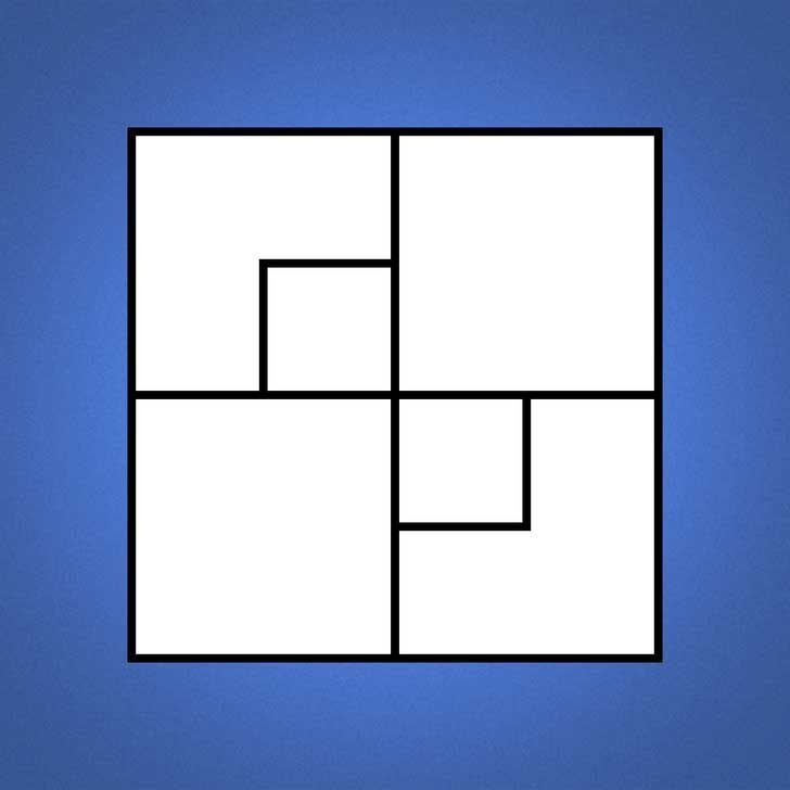 Колко квадрата виждаш на картинката?