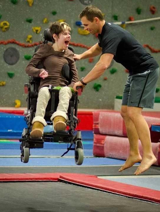 Щастието да скачаш, дори когато не си способен да ходиш