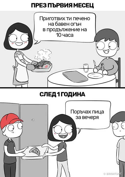 Кулинарните способности също се развиват