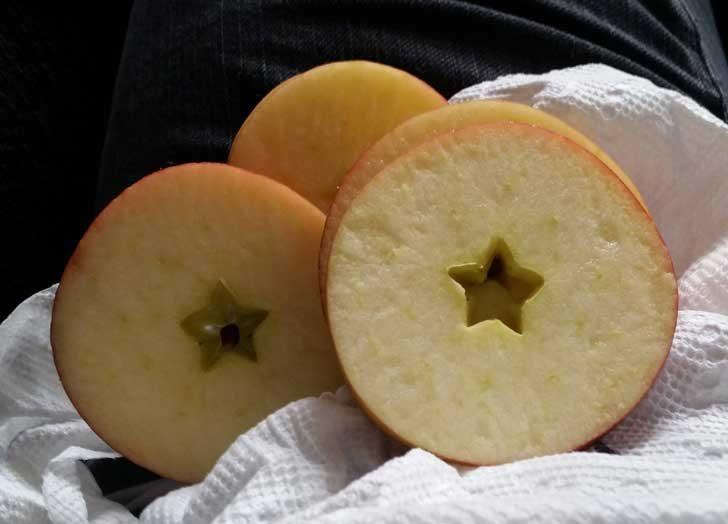 """""""Когато разрязах тази ябълка, в средата ѝ се появи идеално оформена звезда"""""""