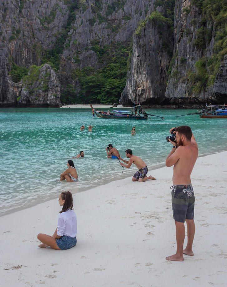 """""""Правех снимка на приятелката ми на този красив плаж, когато се обърнах и видях това"""""""