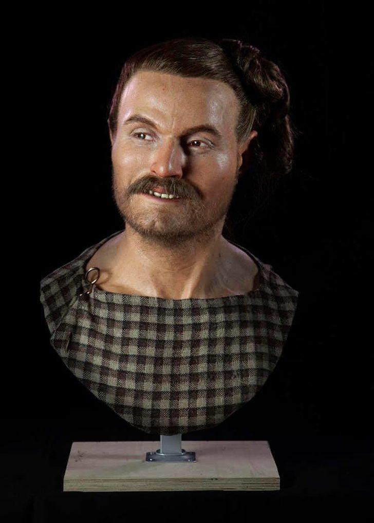 Човекът от Слонк Хил, живял през желязната епоха, 250 г. пр. Хр.